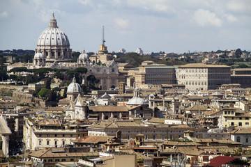 Fototapeta na wymiar über den Dächern von Rom