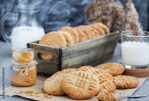 Biscuit Homemade peanut butter cookies