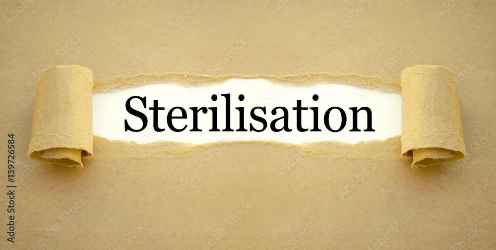 Sterilisierung mann