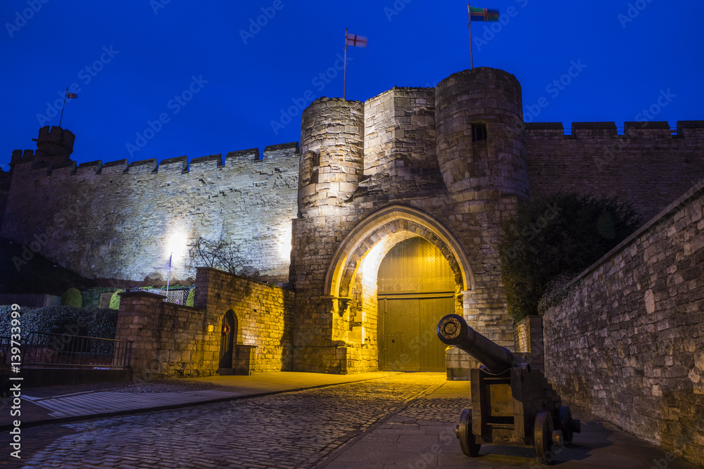 Lincoln Castle in Lincoln Poster