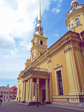 The Peter And Paul Cathedral, ...