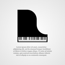 Piano Background.
