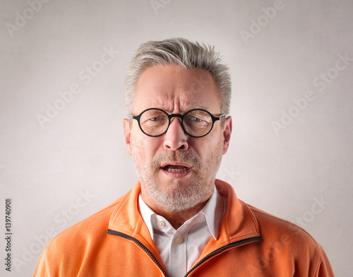 Photo Being shocked by a negative news