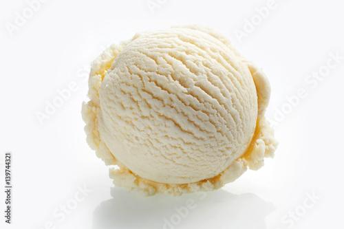 Fotografía  Gourmet Italian stacciatella chocolate ice cream
