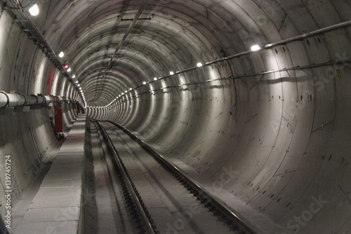 Papiers peints Tunnel subway station