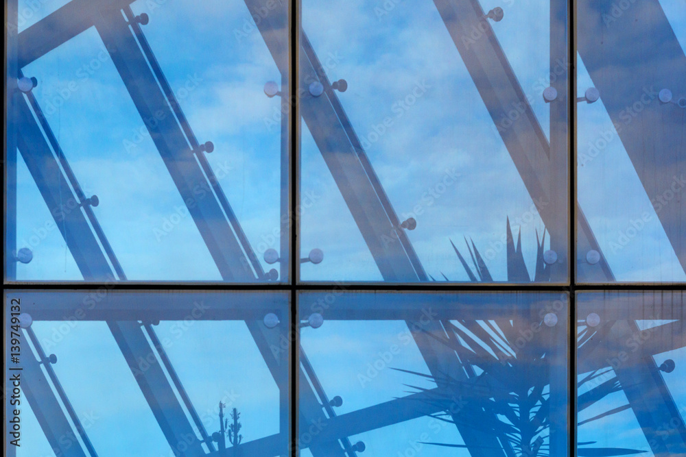 Poster Architecture abstract background