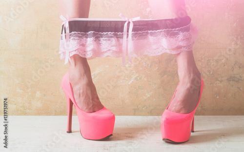 Takes Pink Panties