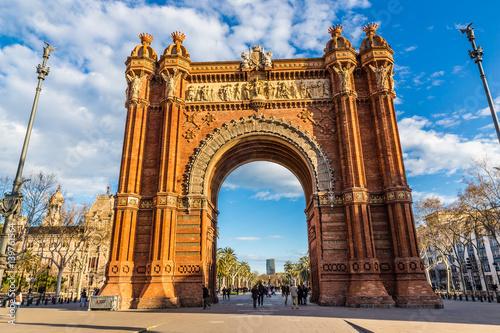 Arc de Triomf - Barcelona, Catalonia, Spain Canvas Print