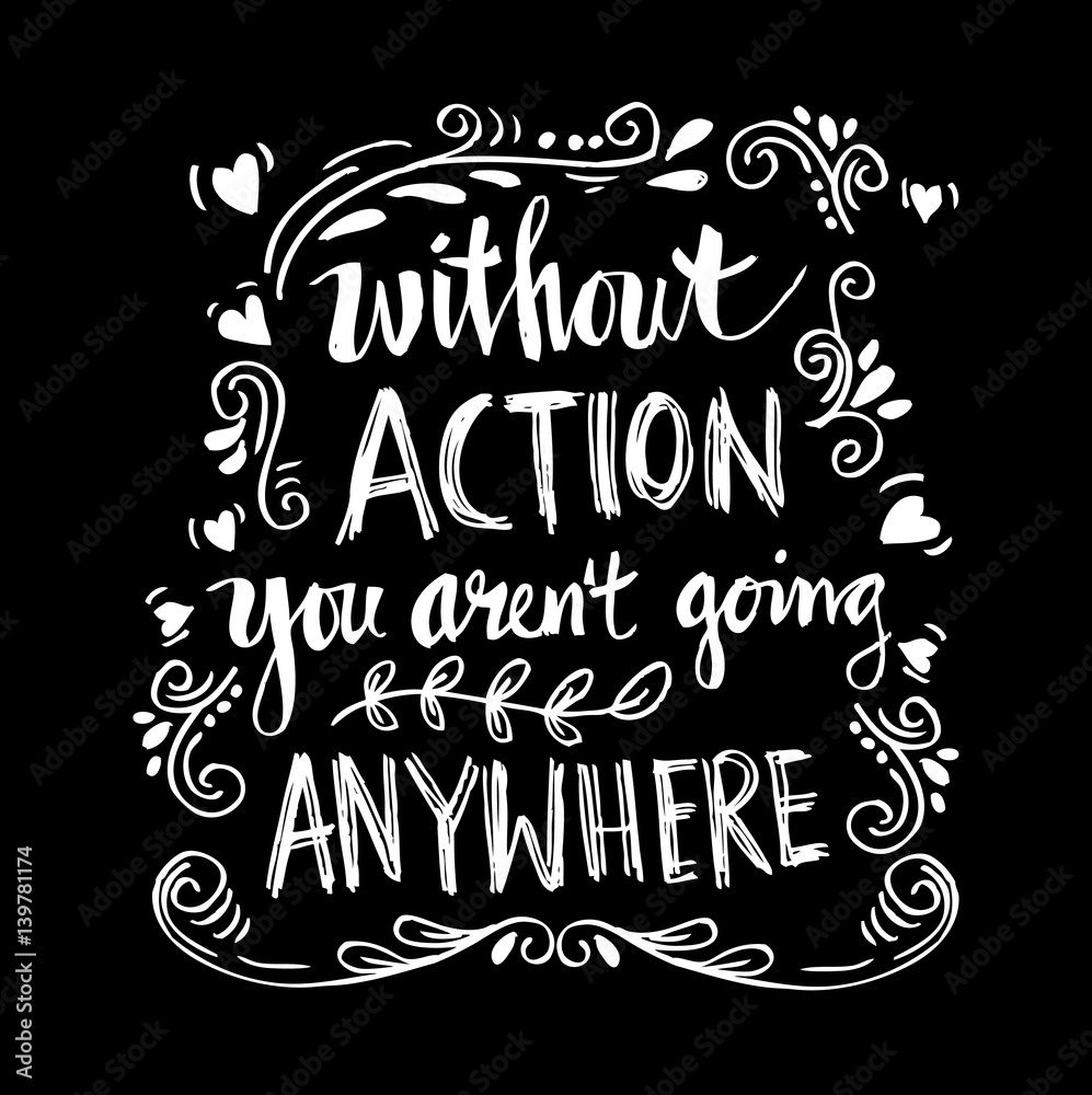 Fotografie Obraz Inspirational motivating quotes by Mahatma