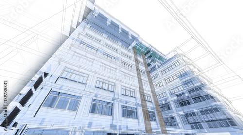 abstrakcjonistyczny-architektury-tlo-perspektywa