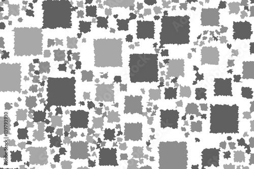 Poster Pixel Abstract background with random pixels. Pattern for study concept.