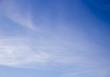 Liquid clouds on blue sky