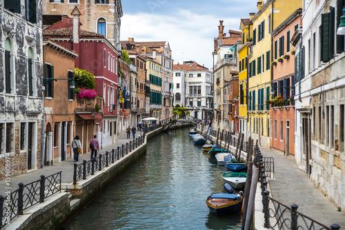 Fototapeta Venice City Buildings Canal Landscape