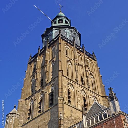 Groene Kerk in ZUTPHEN ( Niederlande ) Wallpaper Mural