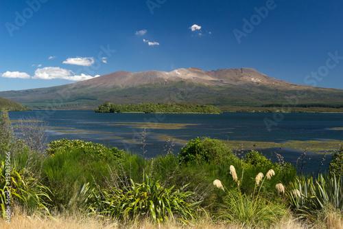 Keuken foto achterwand Nieuw Zeeland Scenic view of Mount Ruapehu, Tongariro National Park, Manawatu-Wanganui, New Zealand