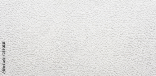 Fotografía  White leather background. Panorama.