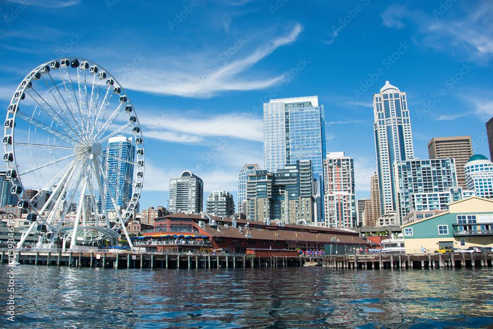 Fototapety, obrazy: Seattle Skyline