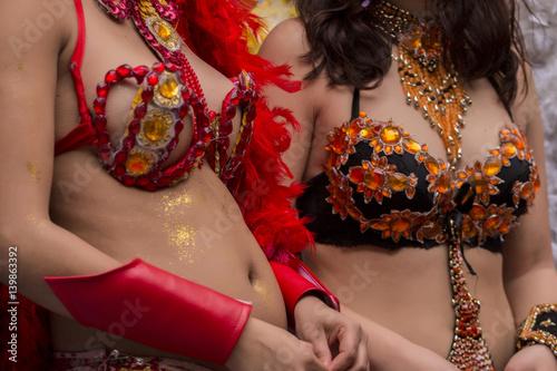 Fotografia, Obraz  carnival female costume dancer