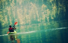 Scenic Kayak Lake Tour