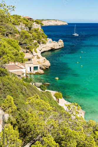 Cala Llombards Canvas Print