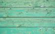 canvas print picture - Grüner verwitterter Holzhintergrund - Holzbretter horizontal leer vintage syle shabby chic