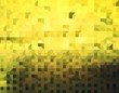 canvas print picture - Yellow abstract background illustration