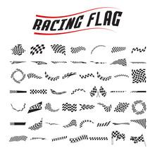 Racing  Flag Set