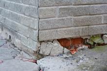 Foundation Repair - Warning Si...