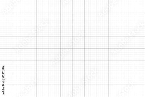 Fotografiet Grid on a white background, vector illustration