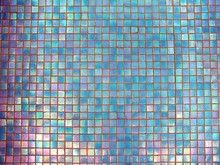 Abstract Background, Multicolored Ceramic Tile Top View