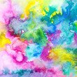Abstract watercolor background. Multicolor background.