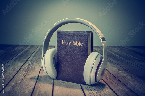 Fotografie, Tablou  Audio Bible