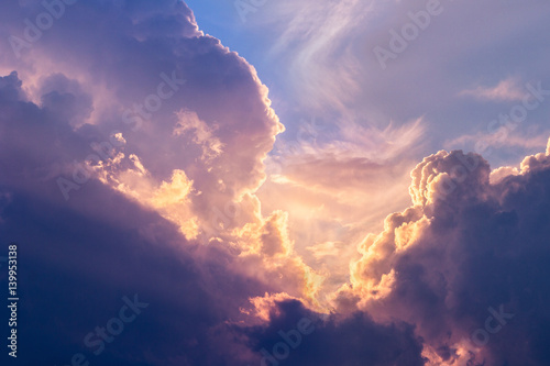 Photo  Dramatic sky