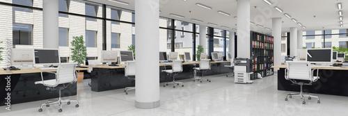 Großraumbüro - Bürogebäude - Bürofläche - Gewerbefläche - Immobilie - Panorama
