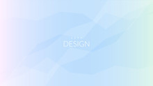 Blurred Soft Color Gradient Horizontal Background