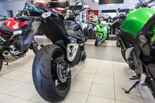 Naked Motorbikes Standing In S...