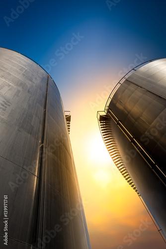 Photo  Oil storage tank