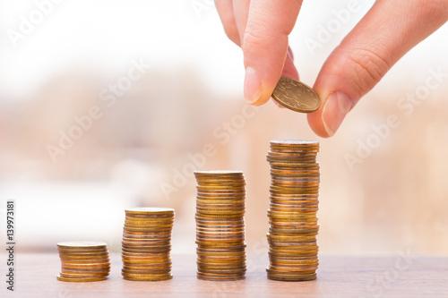 Fotografía  chart of coins