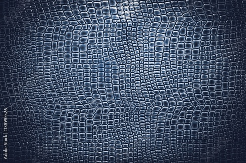 Photo sur Toile Crocodile Crocodile leather texture background. Macro shot. Stock image.