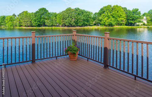 Fotografia  Stock photo of deck