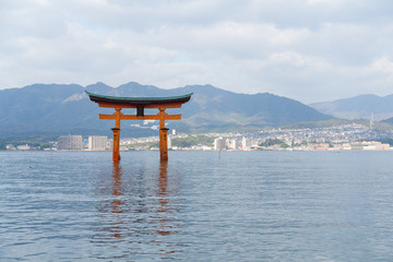 FototapetaItsukushima Shrine
