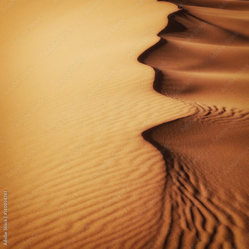 Fototapeta Sand Dunes Morocco desert