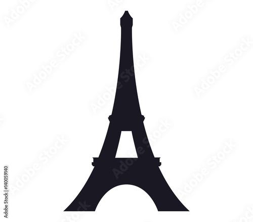 icon Eiffel Tower Fototapete