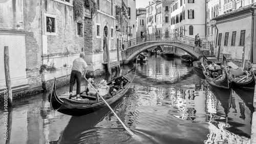 Keuken foto achterwand Venice Gondola, Venice, Italy