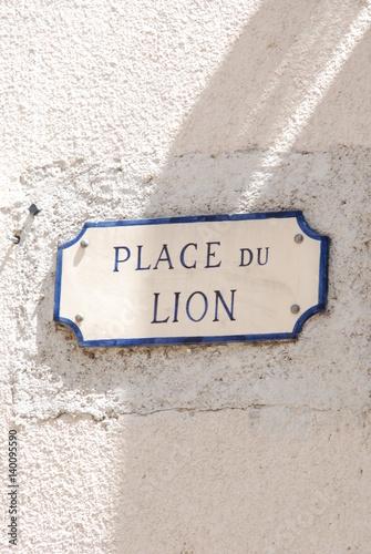 Aubagne place du lion Wallpaper Mural