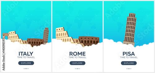 Obraz na płótnie Italy