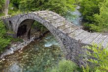 Old Stone Bridge In Epirus, Gr...