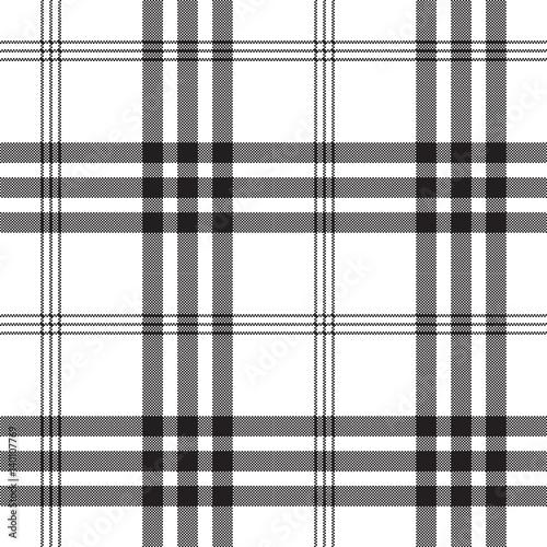 czarny-bialy-piksel-kwadrat-tkanina-tekstura