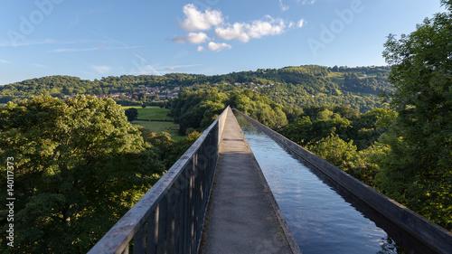Photo Pontcysyllte Aqueduct, connecting Trevor and Froncysyllte, Wrexham, Wales, UK