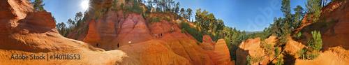 Roussillon, ocre del Cammino dei Giganti a 360°